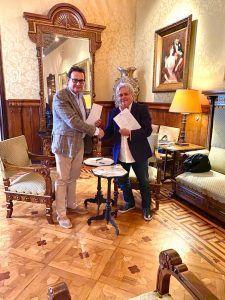 Эдуард Гулян и Президент FIABSI