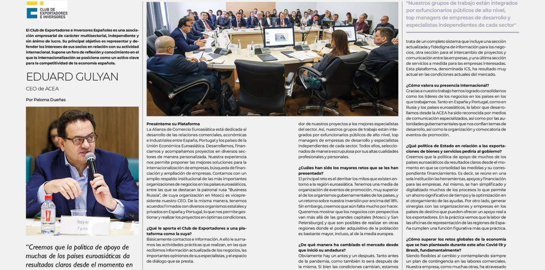 Revista-Ejecutivos-Eduard-Gulyan (Miguel de la Cruz Salcedo)